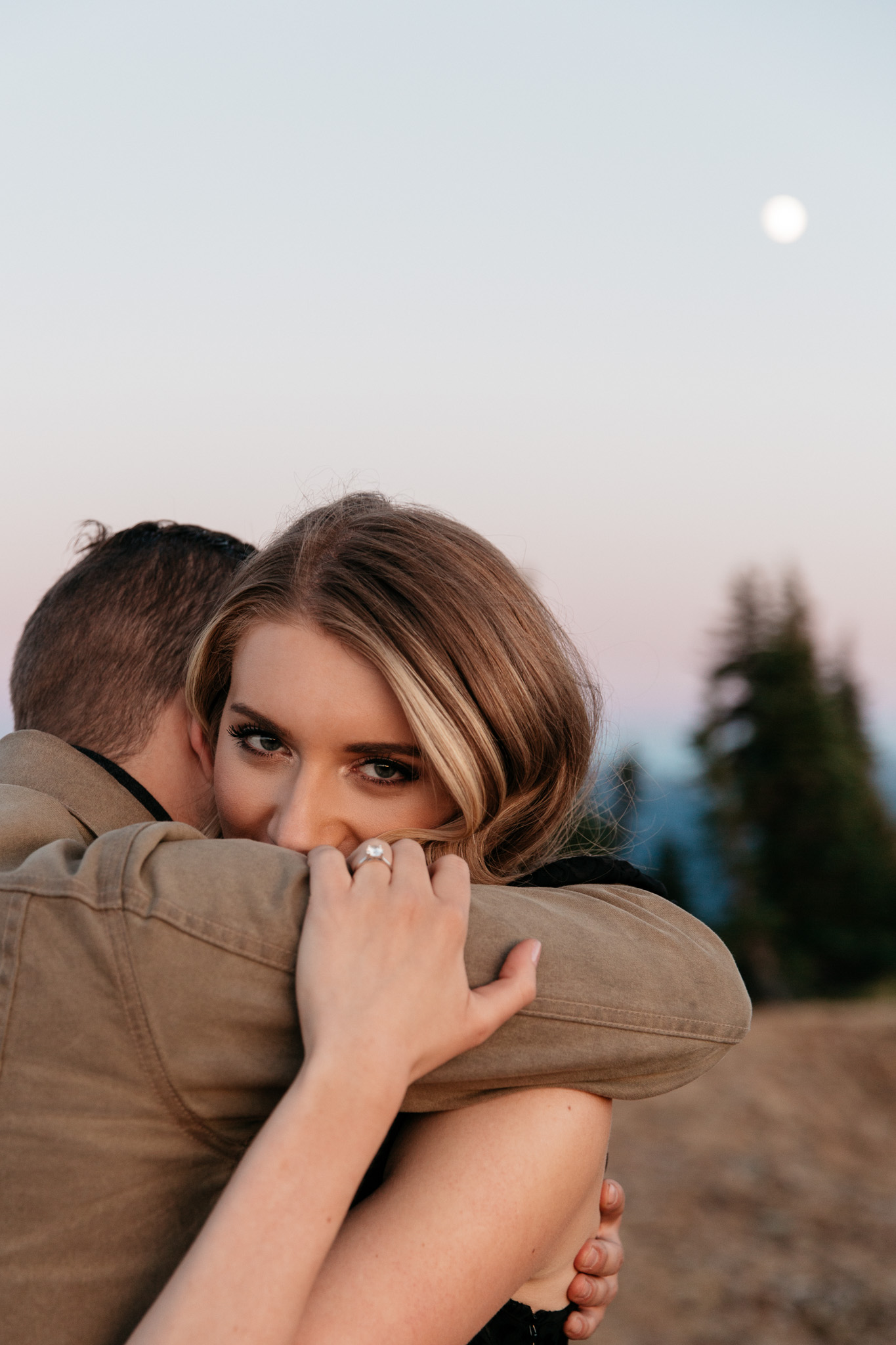 Engagement Session at Hurricane Ridge Brittney Hyatt Photography