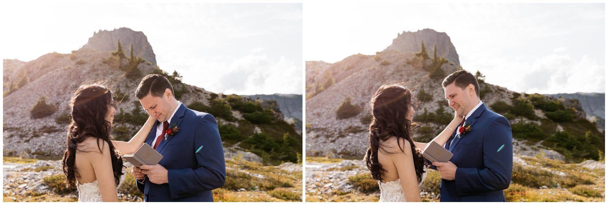 Fall Elopement at Artist Point Mt. Baker Washington with Wedding and Elopement Photographer Brittney Hyatt and Wedding Planner Emily Aitken Events